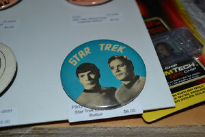 Star Trek and Babylon 5 Buttons