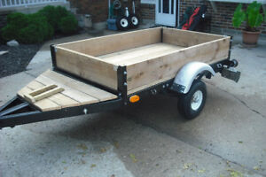 CUSTOM MADE UTILITY TRAILER
