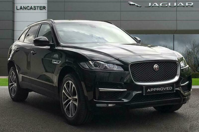 2019 Jaguar F Pace Petrol Black Automatic In Slough Berkshire Gumtree