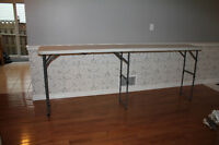 BAR TABLE/TRADE SHOW TABLES FOR SALE