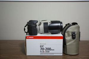 Canon 60D with Canon EF 70-200mm f/2.8 L NON IS USM Lens,