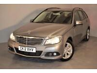 2012 MERCEDES C-CLASS C220 CDI BLUEEFFICIENCY SE ESTATE ESTATE DIESEL