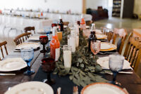 Mixed China/Cutlery/Glasses Party and Wedding Rental