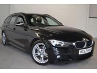 2013 63 BMW 3 SERIES 2.0 320D M SPORT TOURING 5D 181 BHP DIESEL