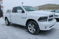 2015 DODGE RAM 1500 SPORT 8 SPD OUR MOST POPULAR PICK-UP !!