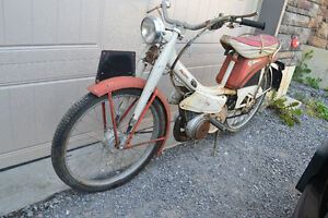 Raleigh Moped