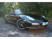 2011 Porsche Boxster S BLACK EDITION Convertible Petrol Manual