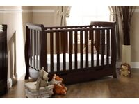 Obaby versatile Lincoln Mini sleigh cot bed/ day bed/ childs bed.