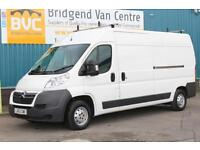 2013 CITROEN RELAY 35 L3H2 ENTERPRISE 2.2 HDI 130 BHP DIESEL 6 SPPED MANUAL VAN,
