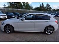 2013 13 BMW 1 SERIES 2.0 120D M SPORT 5D-BLUETOOTH-BLACK DAKOTA LEATHER-COMFORT