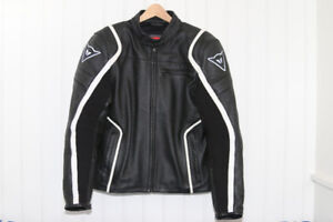 Dainese Motorocycle Racing Leather Air Pelle Jacket Size 48