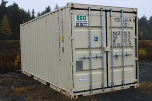20 and 40 foot single use containers in stock