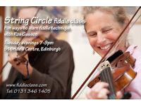 String Circle fiddle workshops