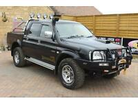 2004 MITSUBISHI L200 TD 4WD LWB WARRIOR DOUBLE CAB BROWNING PICK UP DIESEL