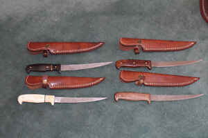 Damascus Knives $70 and Up