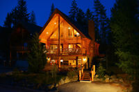 Lovely Log Cabin nestled in the Purcell Mountains, Kimberley BC