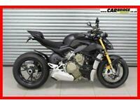 2021 Ducati STREETFIGHTER V4S 206BHP DARK STEALTH - MATT BLACK PAINT Naked Petro