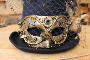 Wicked Bayou Party Hat Steampunk Style, Large, Never worn