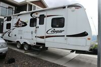 For Sale 2010 Cougar 26BHS Travel Trailer