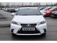2014 LEXUS CT Lexus CT 200h 1.8 F Sport 5dr CVT Auto [Premium Navigation]
