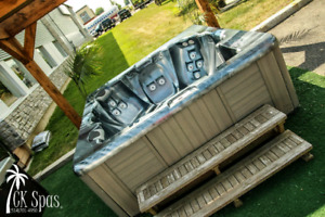 30+ Hot tubs available at CK Spas