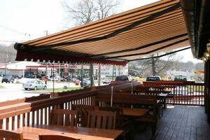 28 foot Commercial patio awning (used) $3500