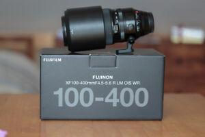 Fuji 100-400mm Garantie comme neuf