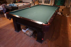 Slate Billiards Table - Competition Size (4' ½  x 9')