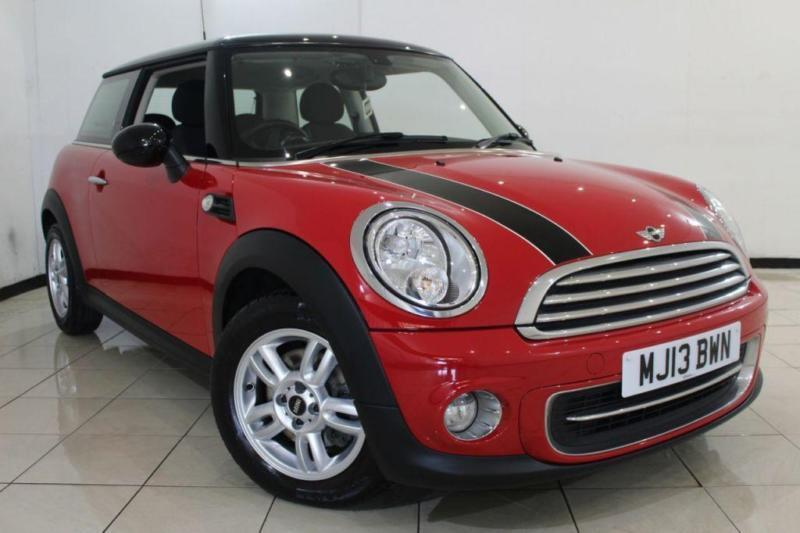 2013 13 MINI HATCH COOPER 1.6 COOPER 3DR 122 BHP
