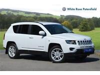 2013 Jeep Compass 2.4 Limited 4x4 CVT Auto Petrol white Automatic