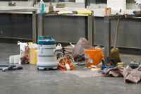 POST-CONSTRUCTION & COMMERCIAL CLEANING SERVICES