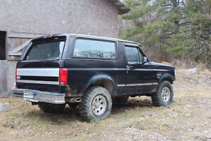 1994 Ford Bronco SUV, Crossover