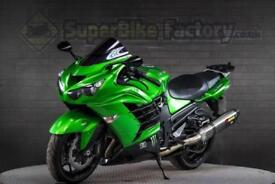 2012 12 KAWASAKI ZZR1400 FCF ABS 1400CC 0% DEPOSIT FINANCE AVAILABLE