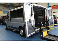 PEUGEOT BOXER Wheelchair Accessible minibus disabled van ricon lift 333 SWB