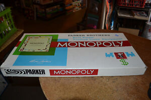 COMPLETE Monopoly Game OR LIKE NEW SCRABBLE $15 (FIRM) Windsor Region Ontario image 1