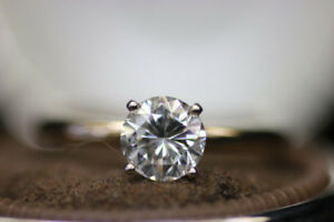 $20,210 Value Solitaire Diamond VVS2 Engagement Ring (#15590)