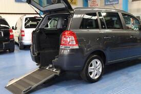 Vauxhall Zafira PETROL wheelchair access mobility accessible vehicle mpv 2012