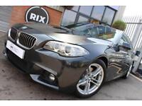 2013 63 BMW 5 SERIES 2.0 520D M SPORT 4D 181 BHP DIESEL