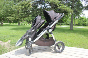City Select Single to Double Stroller