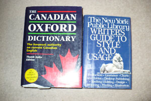 The Canadian Oxford Dictionary/Writer's Guide To Style And Usage