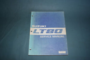 Suzuki LT80 Service Shop Repair Manual Factory OEM