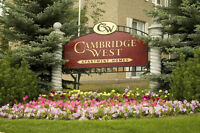 Cambridge West: Accepting Applications for 2 Bedroom Suites!!