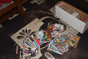 MORE THEN 250 DC AND MARVEL COMICS FROM THE 1980'S COLLECTIONS