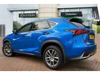 2019 Lexus NX ESTATE 300h 2.5 5dr CVT (8in Nav) Auto SUV Petrol/Electric Hybrid