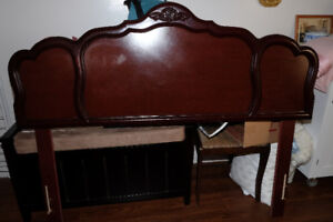 "54"" (double) mattress, box spring and headboard"