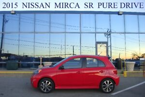 2015 Nissan Mirca SR Pure Drive, Off-Lease, No Accident