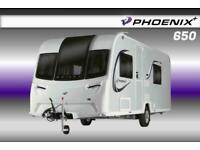 Bailey Phoenix Plus 650, NEW 2021 Touring Caravan