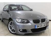 2009 59 BMW 3 SERIES 3.0 325I M SPORT 2DR 215 BHP