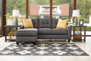 IVY REVERSIBLE SECTIONAL - NO TAX - FREE DELIVERY