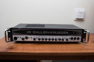 Gallien Krueger 1001rb Bass Amp Head